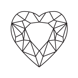 SAPPHIRE - Heart Shape